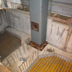 EVシャフト・CFT柱con圧入口