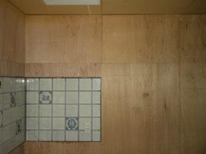 システムキッチン撤去後(ユーティリティ側)