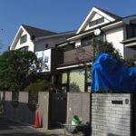 O邸改修工事(その16・外部施工完了)