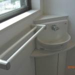 2階トイレ(コーナー手洗い、タオル掛け)
