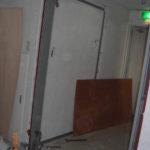 防火扉枠設置